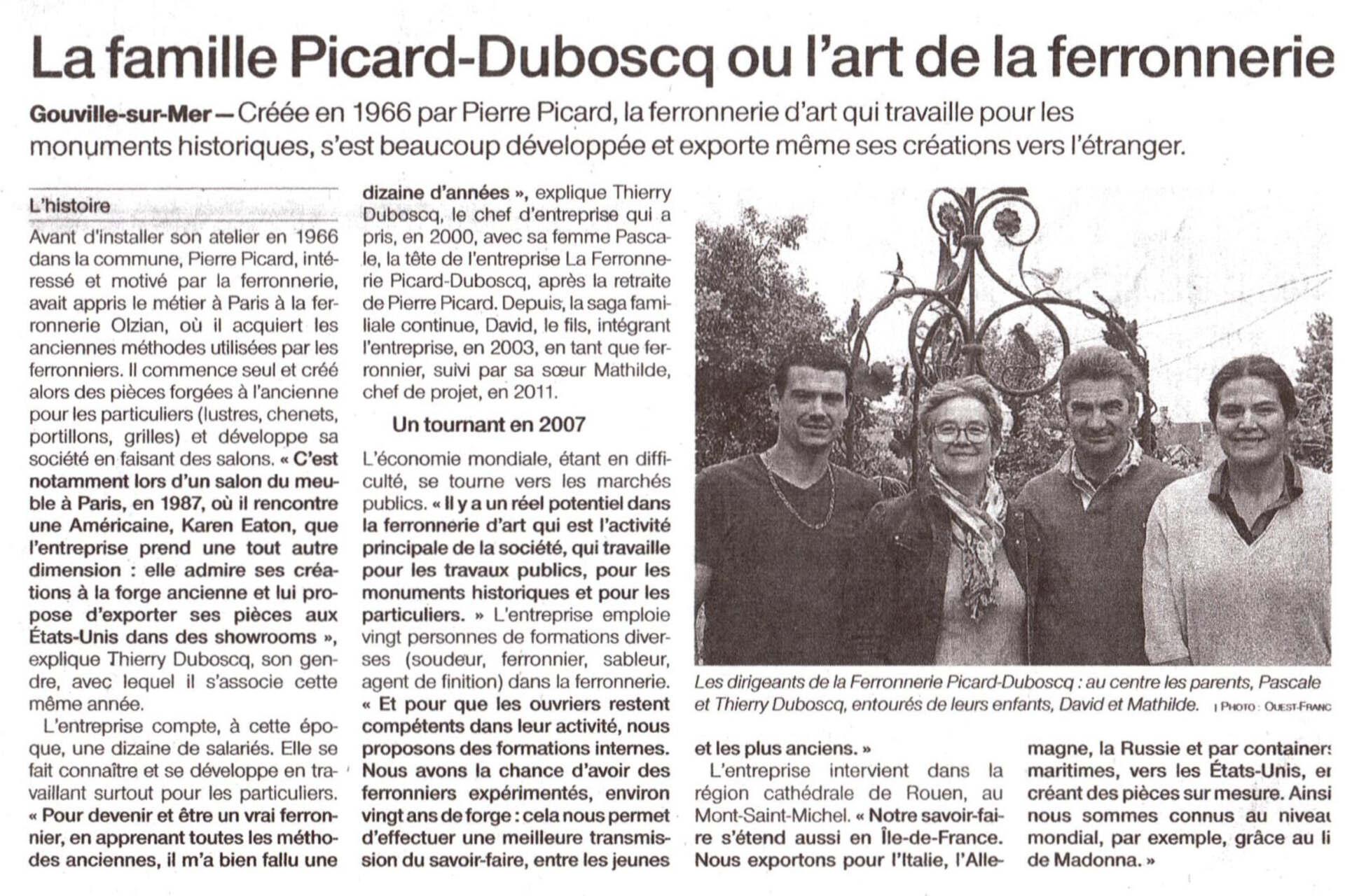 Portrait famile PICARD DUBOSCQ OF 26.10.20